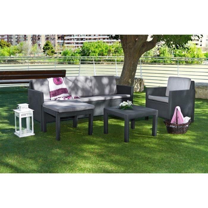 Salon de jardin lounge cdiscount - Mailleraye.fr jardin