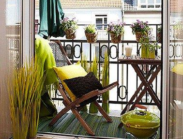Mobilier de jardin petit balcon