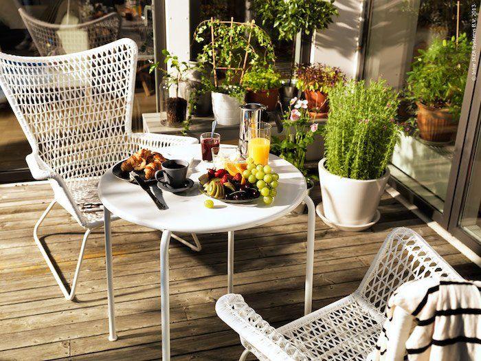 Salon de jardin à ikea
