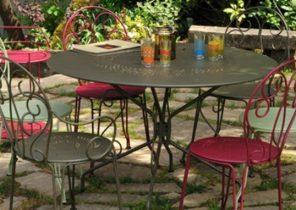 Salon de jardin 8 fauteuils - Mailleraye.fr jardin