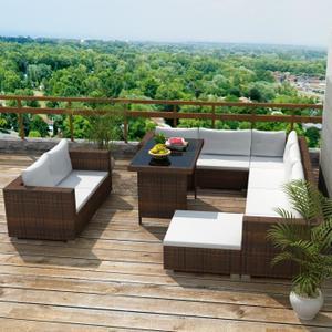 salon de jardin exterieur rotin jardin. Black Bedroom Furniture Sets. Home Design Ideas