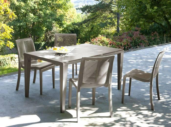 Table de jardin chaise pas cher