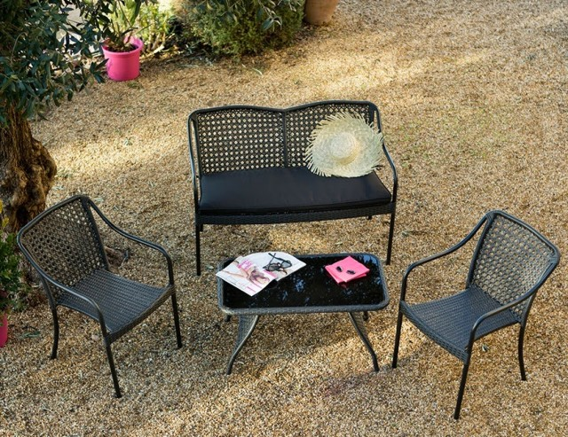 Petit salon de jardin pour balcon - Mailleraye.fr jardin