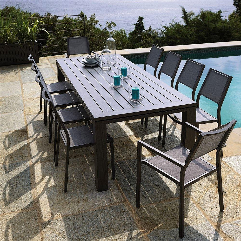 Ensemble table et chaise jardin