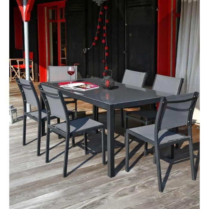 Achat table de jardin