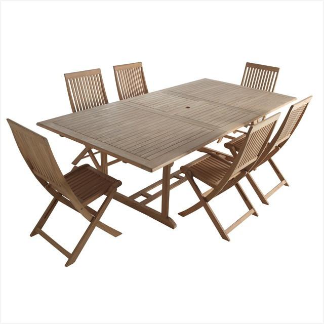 Ensemble table et chaise jardin pas cher