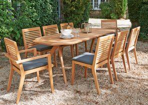 Sunrise salon de jardin aluminium vegas - Mailleraye.fr jardin