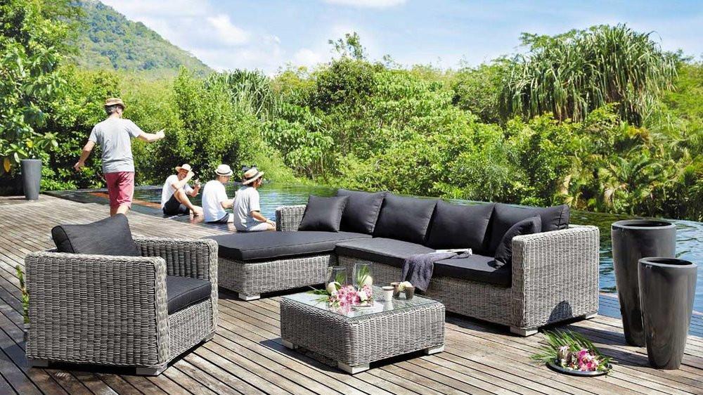 Salon de jardin tresse maison du monde - Mailleraye.fr jardin