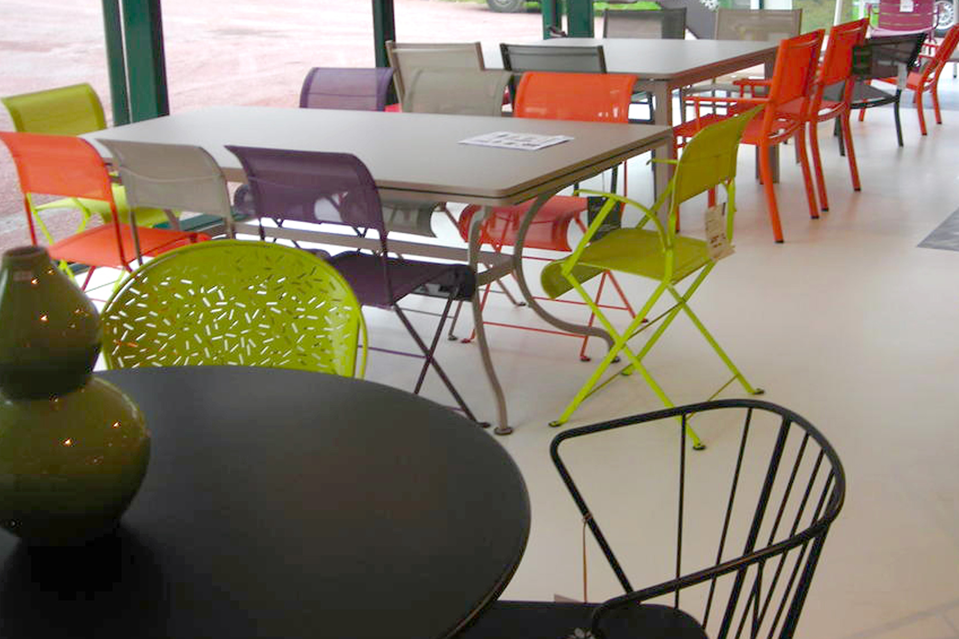 Salon de jardin style fermob - Mailleraye.fr jardin