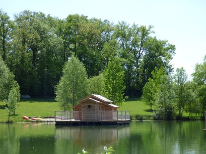 Cabane au bord de l'eau gironde
