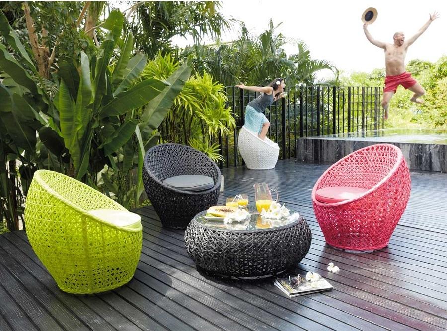 Salon de jardin couleur - Mailleraye.fr jardin