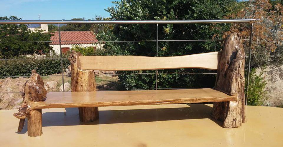 mobilier de jardin en bois flott jardin. Black Bedroom Furniture Sets. Home Design Ideas