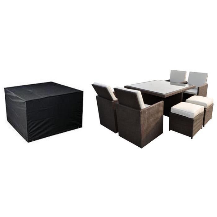 housse de protection pour salon de jardin cdiscount. Black Bedroom Furniture Sets. Home Design Ideas