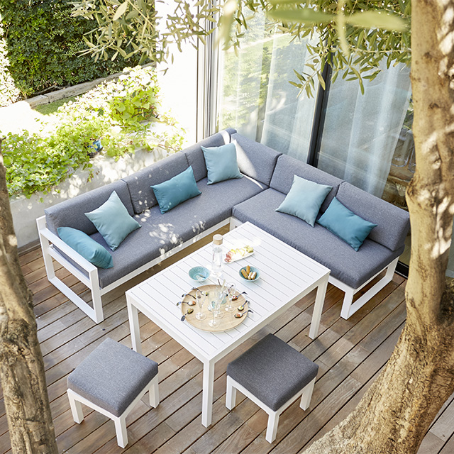 Beautiful Table De Jardin Bois Castorama Ideas - House Design ...