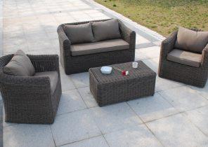 Amazing Salon De Jardin En Resine Tressee Couleur Taupe de Design ...