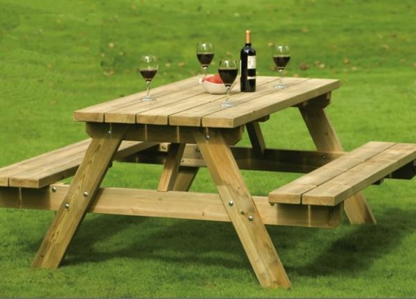 Table bois exterieur pas cher - Mailleraye.fr jardin