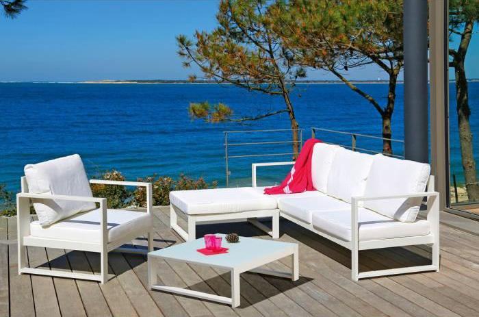 Salon de jardin haut de gamme design - Mailleraye.fr jardin