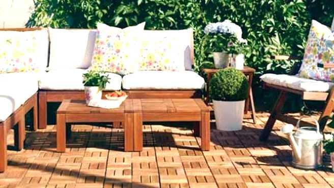 Coussin pour salon de jardin ibiza