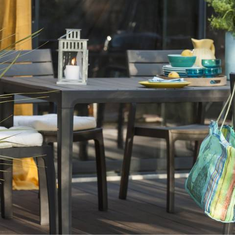 Best Salon De Jardin Harmony Gris Anthracite Ideas - House ...
