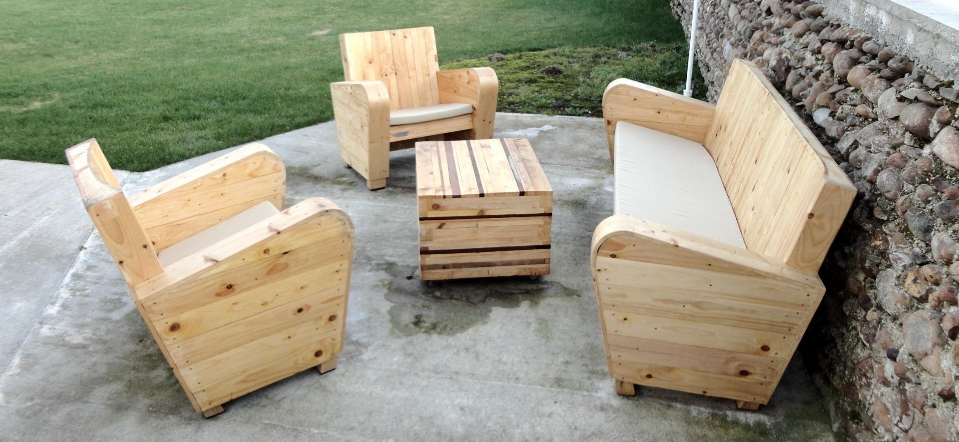 Mobilier de jardin en bois - Mailleraye.fr jardin