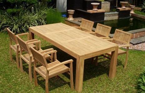 mobilier de jardin teck - Salon De Jardin Teck