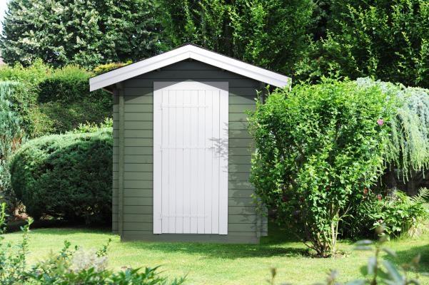 Petite cabane en anglais jardin - Petite cabane de jardin ...