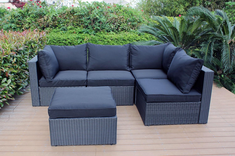 Salon de jardin modulable lounge - Mailleraye.fr jardin