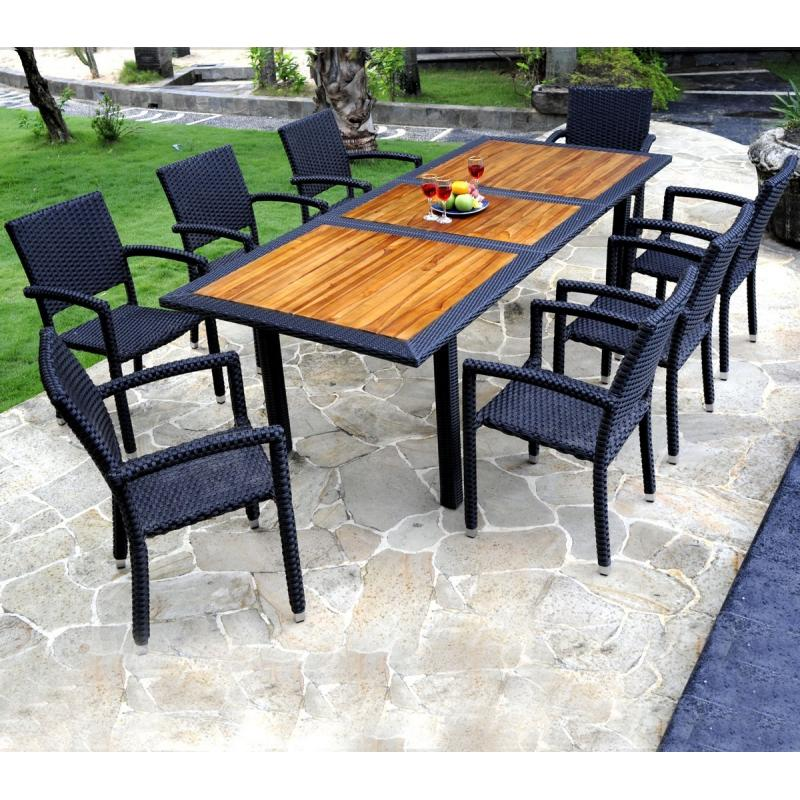 Ensemble de table de jardin