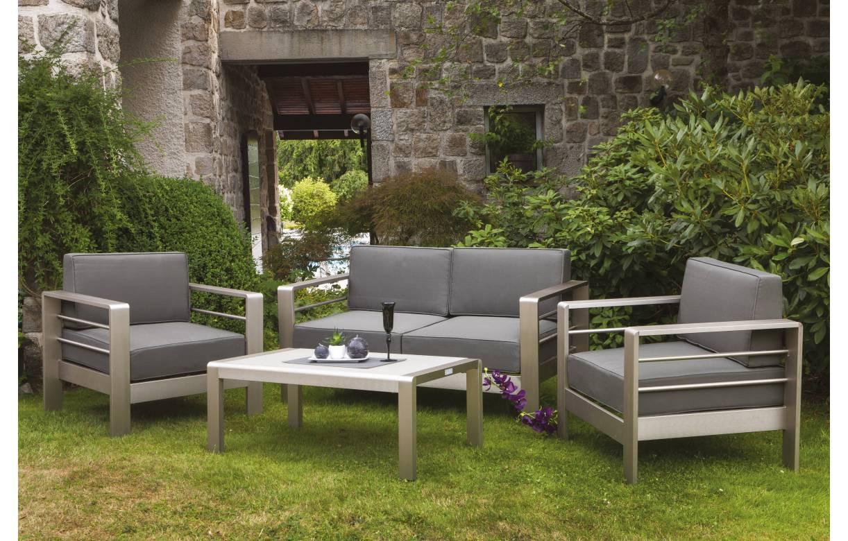 Salon de jardin exterieur aluminium - Mailleraye.fr jardin