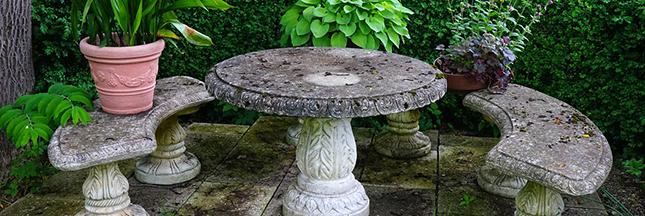 Comment nettoyer un salon de jardin en osier jardin - Comment nettoyer un salon de jardin en teck ...