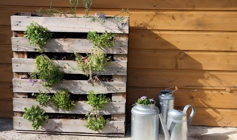 Mobilier de jardin en bois recyclé - Mailleraye.fr jardin