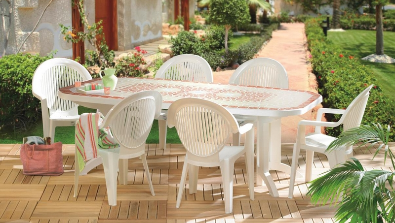 Comment nettoyer salon de jardin en plastique blanc - Mailleraye.fr ...