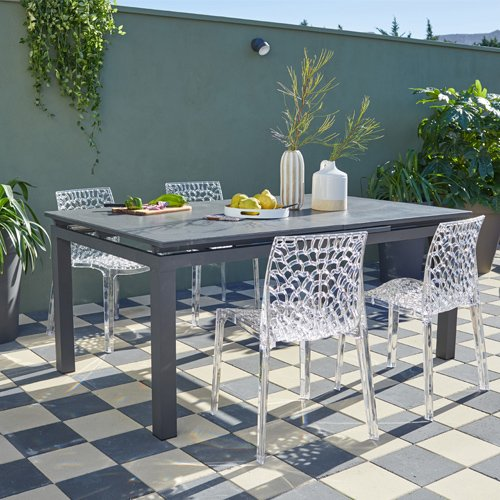 Promo table et chaise de jardin