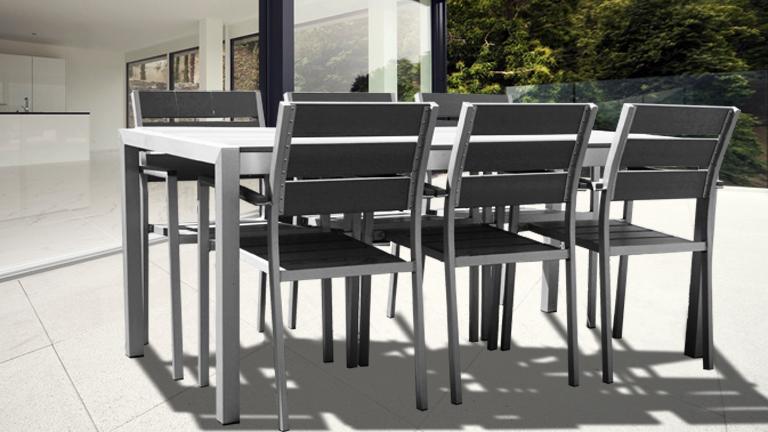 ensemble table et chaise de jardin en resine pas cher - Ensemble Table De Jardin Et Chaises