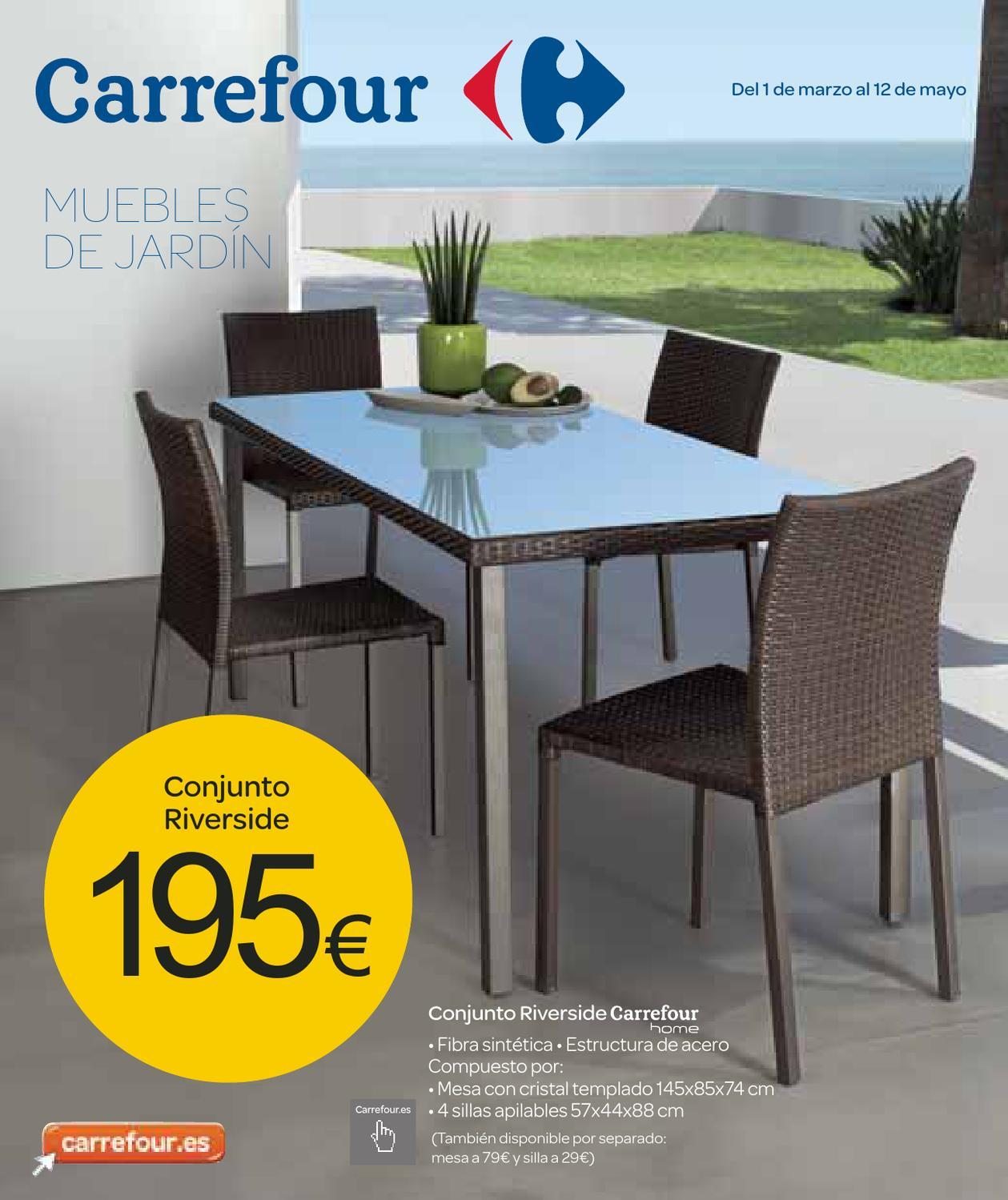 Salon de jardin 149€ carrefour