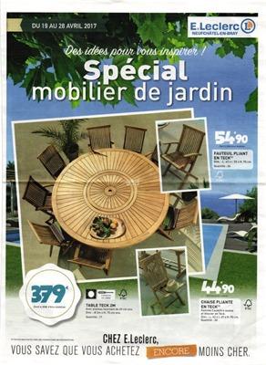 Salon De Jardin Leclerc Catalogue 2017