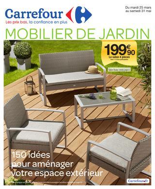 Catalogue mobilier de jardin carrefour home