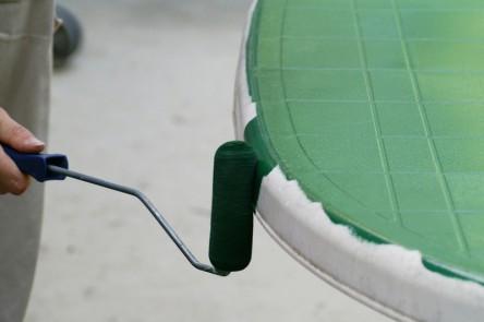 Comment raviver un salon de jardin en plastique vert ...
