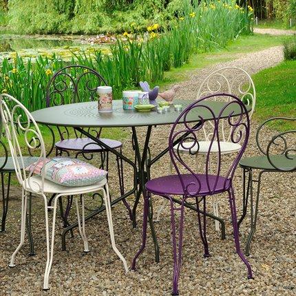 Peindre salon de jardin en bois exotique - Mailleraye.fr jardin