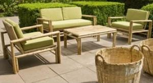 Salon de jardin bambou - Mailleraye.fr jardin