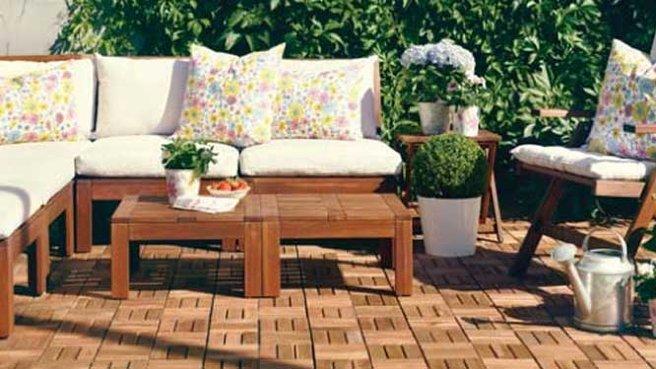 Salon de jardin encastrable ikea