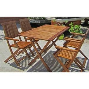 Table de jardin bois pas cher - Mailleraye.fr jardin