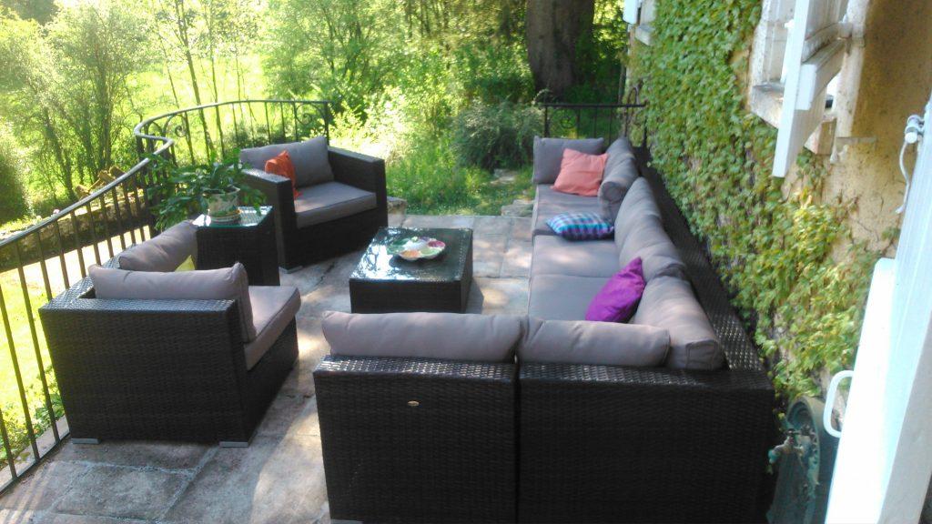 Promo salon de jardin résine tressée - Mailleraye.fr jardin