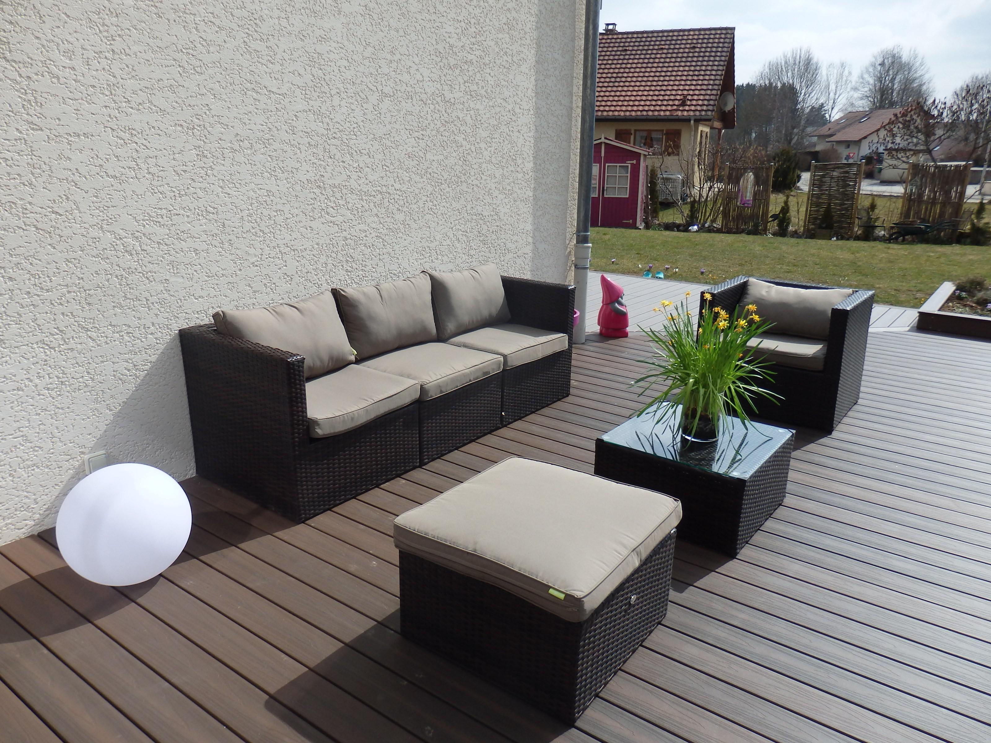 Vente mobilier de jardin