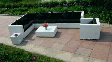 Salon de jardin en palette en bois plan