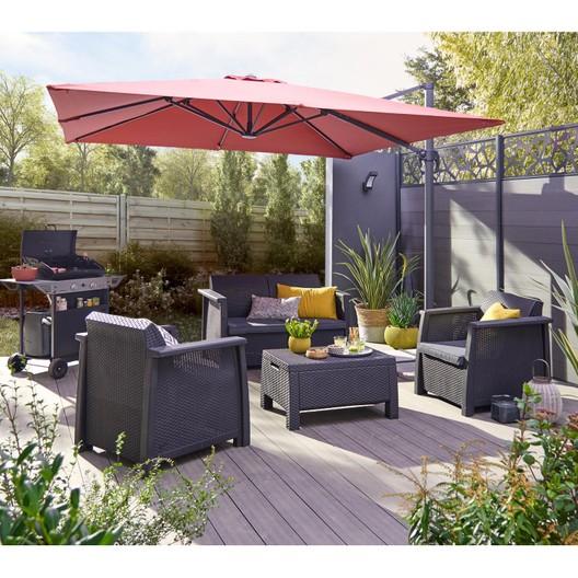 Salon de jardin resine kettler - Mailleraye.fr jardin
