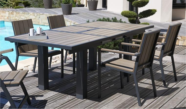 Beautiful Table De Jardin Bois Cdiscount Contemporary ...