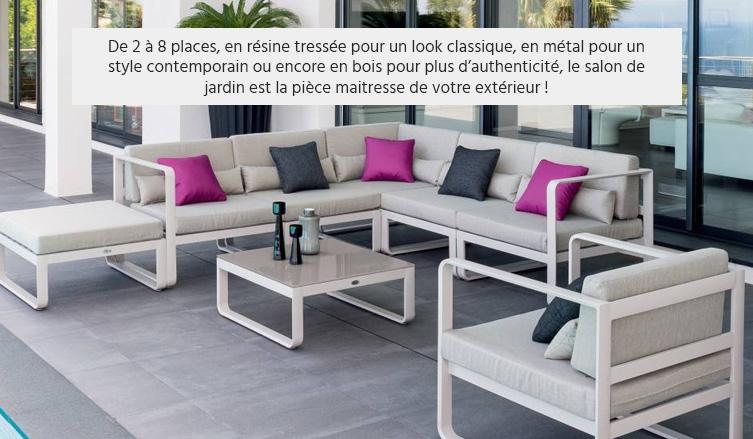 Salon de jardin exterieur resistant aux intemperies - Mailleraye.fr ...