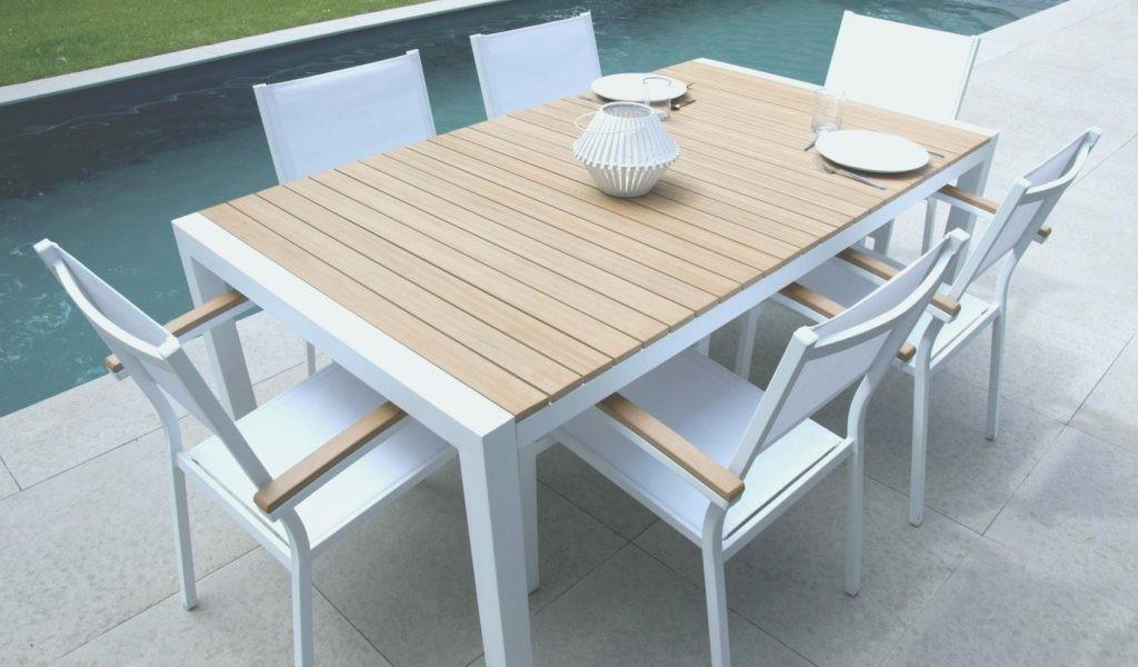 Table de salon de jardin metal - Mailleraye.fr jardin