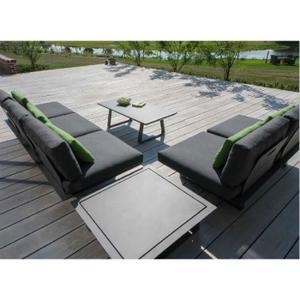 Salon de jardin modulable lounge 8/10 personnes sun island ...